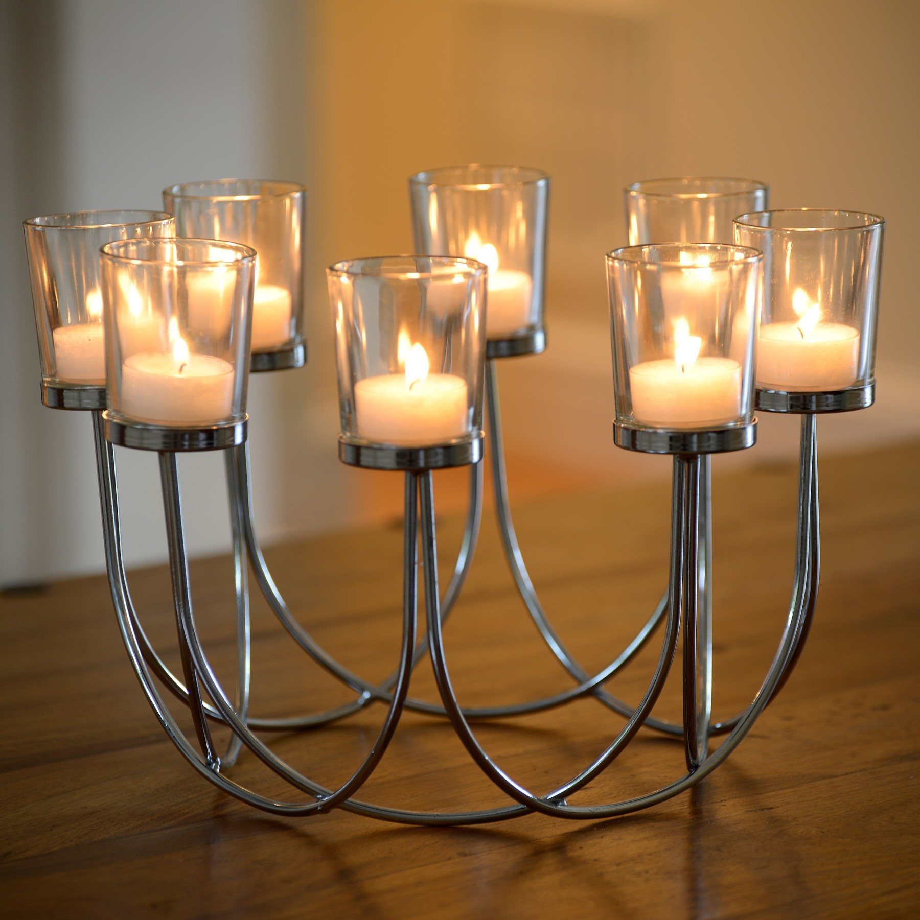 4c31a0eb38 Tea Light Glass Candle Holder - Safield Distribution