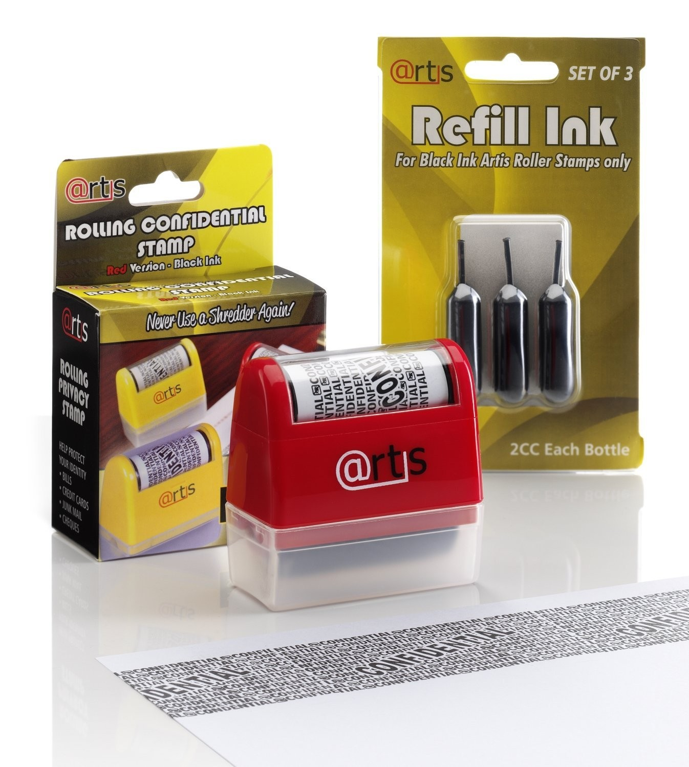 Share Self Inking Privacy Stamp