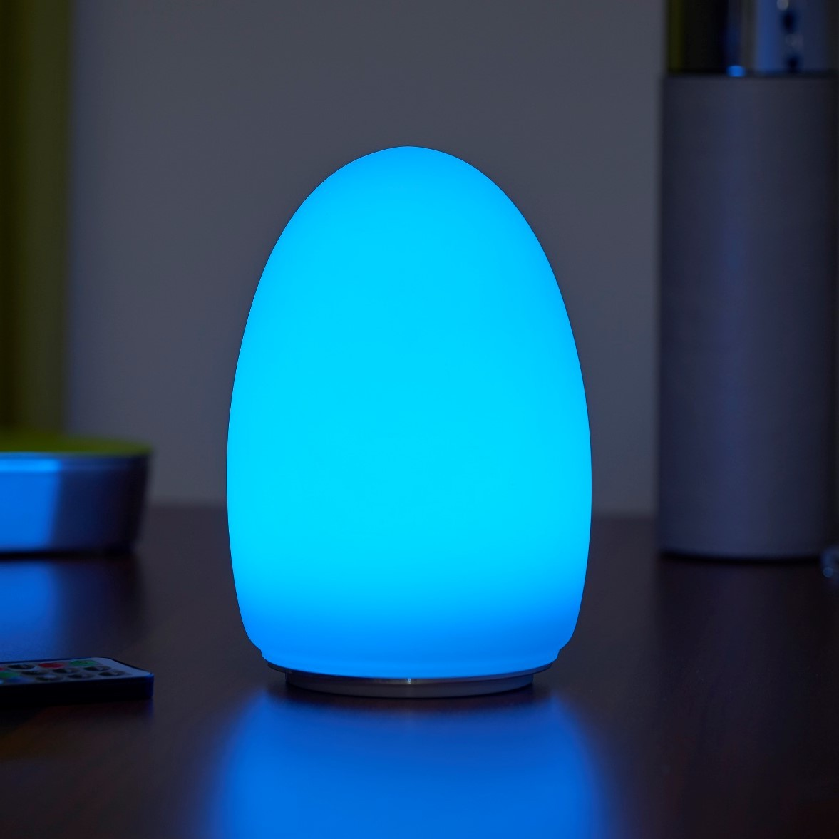 Cordless Table EGG Colour Rechargeable Auraglow Lamp LED Changing – 1TFK3clJu5
