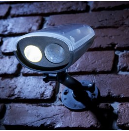 Solalux Cordless Motion Activated PIR Sensor Outdoor Wireless Solar Power Security Light
