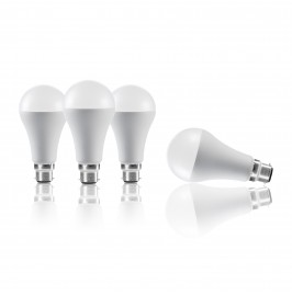 Auraglow 15W LED B22 Cool White - 100w EQV – Dimmable – 4 Pack