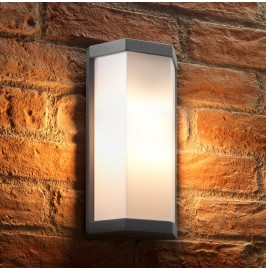 Auraglow 5w Futuristic Outdoor Wall Light - COLEBY