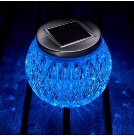 Auraglow Colour Changing Solar Table Light