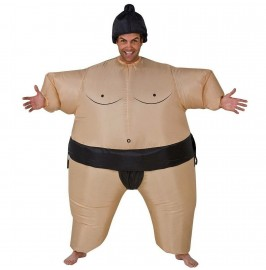 AirSuits Inflatable Sumo Wrestler Fancy Dress Costume Fat Suit.1