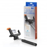 The Original PIC STICK with Mirror Extendable Wireless Bluetooth Selfie Stick for iPhone & Android