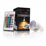 Auraglow Colour changing GU10 with IR Remote Control