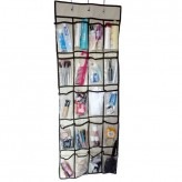 20 Pocket Door Hanging Tidy Organiser Storage Rack