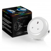 Auraglow Automatic Plug In Multi Colour Plug Through LED Nursery Night Light with Dusk till Dawn Daylight Sensor.4