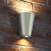 Auraglow 14w Outdoor Double Up & Down Wall Light - WEYBRIDGE - White