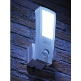 Auraglow 16W LED Low Energy Motion Activated PIR Sensor Outdoor Security Wall Light - 120w EQV