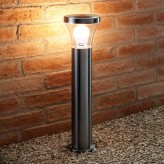 Auraglow IP44 Stainless Steel Outdoor Garden Path Remote Control Colour Changing Post Light