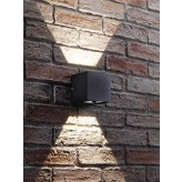 Auraglow Black Integrated LED Adjustable Beam Up and Down Wall Light