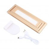 Wireless Rechargeable LED Desk Lamp Reading Light