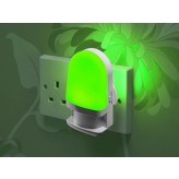 Auraglow Automatic Plug In Colour Changing LED Nursery Night Light with Dusk till Dawn Daylight Sensor.154