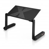 Artis Ergonomic Lapdesk 360° Multifunctional Folding Laptop Table PC Desk Notebook Bed Stand.4