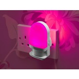 Auraglow Automatic Plug In Colour Changing LED Nursery Night Light with Dusk till Dawn Daylight Sensor.688