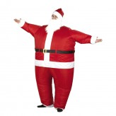 AirSuits Inflatable Santa Christmas Fancy Dress Costume Air Blimp Suit.1