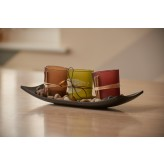 Artis Set of 3 Nature Themed Tea Light Candle Holders