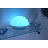 Auraglow Colour Changing LED Mood Light Wireless Battery Operated / USB Bedside Table Desk Touch Lamp.2