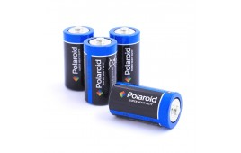 Size C Polaroid Super Heavy Duty Batteries - Pack of 4